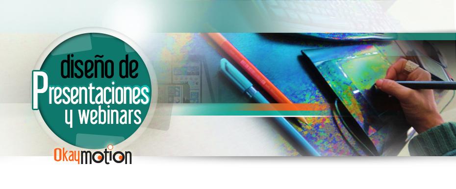 Servicio: DISEÑO DE PRESENTACIONES Y WEBINARS