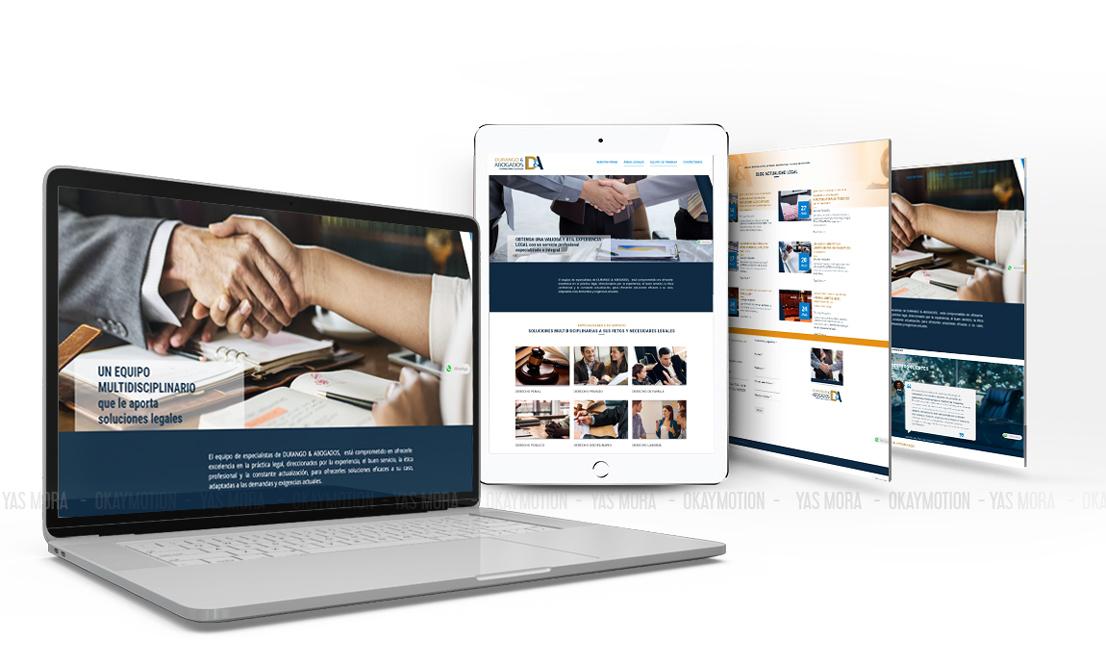 diseño Web e imagen de marca, Yas Mora
