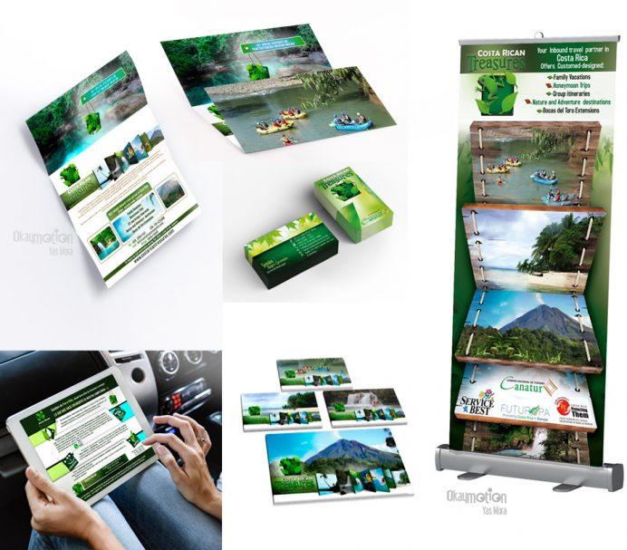 Diseño de marca Turismo, Costa Rica